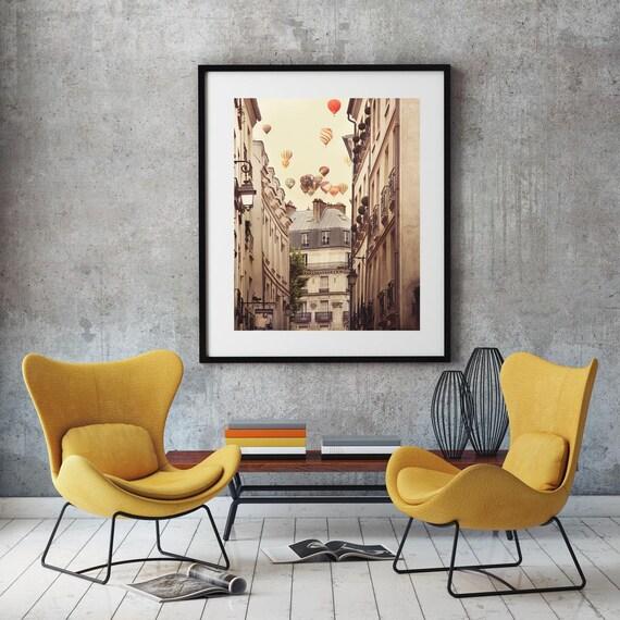 Large Framed Art, Paris Decor, Framed Print, Paris Photography, Wall Decor,