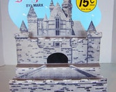 "Reproduction 1961 DISNEYKIN CASTLE STORE DisPLAY  Product Demonstrator  16"" x 12.5"""