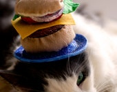 The Great Cheeseburger Cat Hat