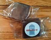 Allons-y Glycerin Soap 2oz Bar Doctor Who Inspired