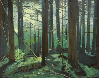 Big Woods - limited edition print