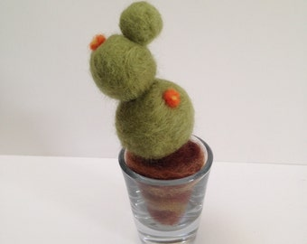 Needlefelted Cactus Home Decor