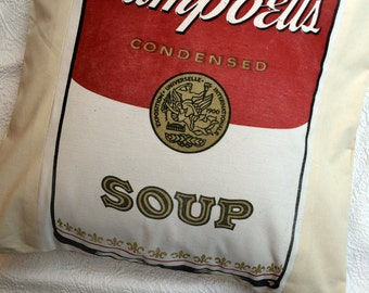 Pop Art Pillow Sham - Campbell's Soup
