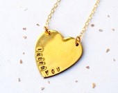Big Sweet Heart Necklace