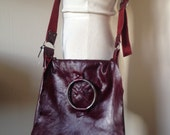 Messenger Bag - WINE - Merlot