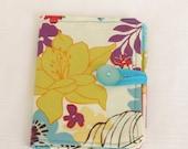 Clearance Tea Bag Wallet -Golden Yellow Flowers