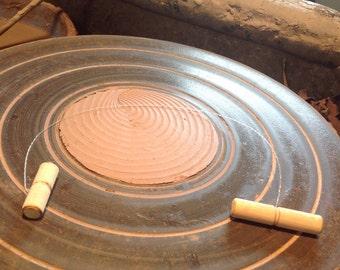 Simon Leach Pottery Cut Off Wire