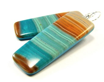 Polymer Clay Earrings -  Beachcomber Collection - Beachcomber Collection - Ambergris Caye Earrings