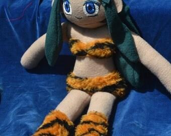 Custom Anime Urusei Yatsura Lum Plush Doll
