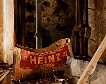 Heinz 57 Rustic Abandoned Barn Fine Art Photograph