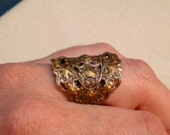 oO WOODLAND Oo Medieval brass ring