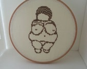Venus of Willendorf Cross Stitch PDF Pattern