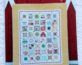 SPECIAL PURCHASE * Farm Girl Vintage Quilt Pattern Book, Lori Holt, Bee in my Bonnet, Retro Quilt Patterns, Scrappy Pattern