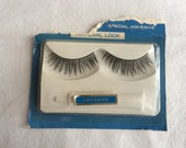 Vintage 1960s Mod Fake False Eyelashes Lashes LASHBRITES in Unsealed box
