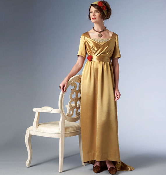 Historical Dress Pattern Butterick B6190 Downton Abbey