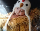 Baby Chicken Hat Crochet Rooster Newborn 0 3m 6m  Soft Photo Prop Clothes Boys Girls Gender Neutral Halloween CostumeCUTE