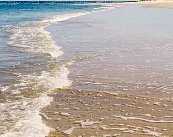 Beach Photography, Beach Landscape, Ocean Photography, Ocean Waves, Coastal Decor, Crane Beach Ipswich, New England Coast, Seashore, Summer