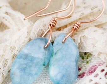 Drops of tranquility earrings - kyanite (CC)