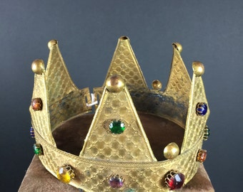 Crown- Gold, Embellished