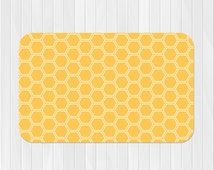 Honeycomb Rug, Nursery Rug, Customized Rug, Childrens Room Decor, Kids Rug, Nursery Decor, Area Rug, Custom Floor Rug, Pick Your Color!
