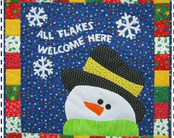 All Flakes Welcome Here quilt pattern
