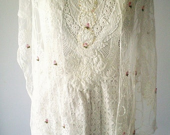 wedding dresses, short wedding dress, lace wedding dress, short beach wedding, lace wedding shawl, upcycled wedding