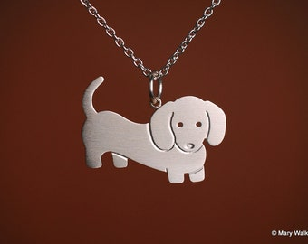 Little Dachshund Necklace