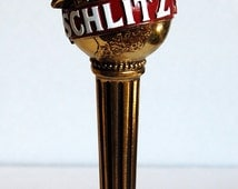 Vintage Schlitz Malt Liquor Draught Handle Golden Classic