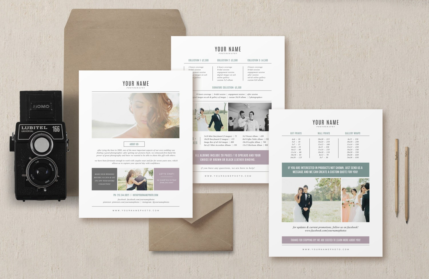 Photography Pricing Template Wedding Magazine Price List – Wedding Price List