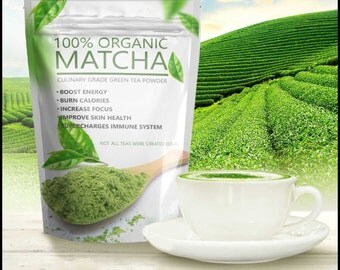 Premium Quality Matcha Green Tea Powder