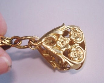 Flower Style Watch Fob Pendant