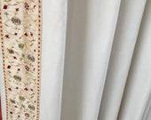 Door Window Curtains, Decorating with Curtains, Drape, Luxury Fabrics, Blackout Drapes, Curtain Ideas, Custom Window Treatments