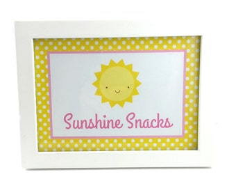 You Are My Sunshine Party Sign, Sunshine Birthday Sign, Sunshine Sign, Sunshine Party Decoration - 5x7