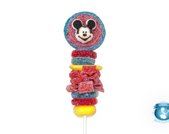 Mickey Mouse Candy Kabobs - 6