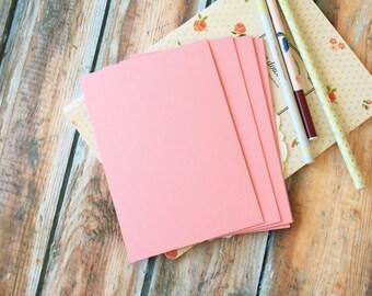 Vintage Series ROSE PINK craft postcard blanks