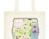 Custom Listing for Jeny - Personalized New Orleans Totes - Set of 16 RUSH SHIPPING