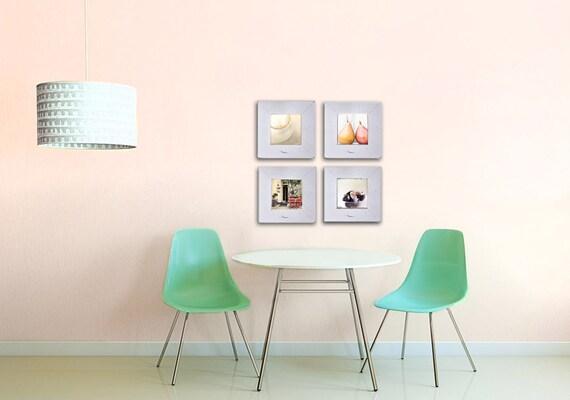 SALE, Kitchen Art, Food Photography, 4 Photo Set, Rustic Kitchen Decor, Neutral, Kitchen Prints, Save 50%