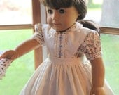Little Women- Miss Josephine March Doll Dress Set -Dress, Embroidered Apron and Pataloons -Ready to Ship