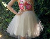 Custom listing for Sophelia floor length sweetheart neck floral reception dress