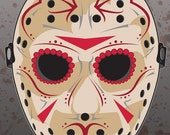 Jason Sugar Skull Mask 11x14 print