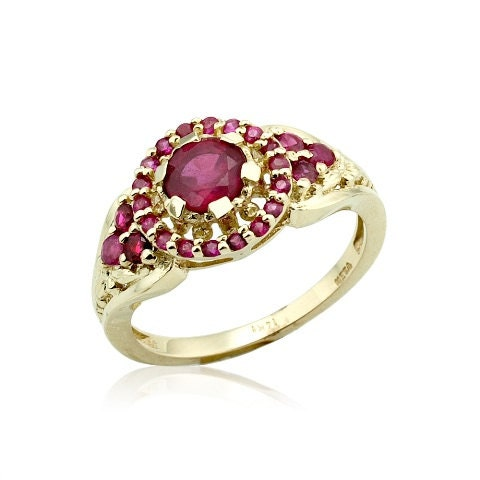 ruby engagement ring unique ruby ring ruby jewelry by