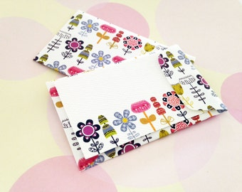 Gift Enclosure Card, Mini Card, Mini Cards and Envelopes, Set of 10