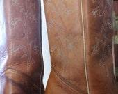 70s Wolverine western boots