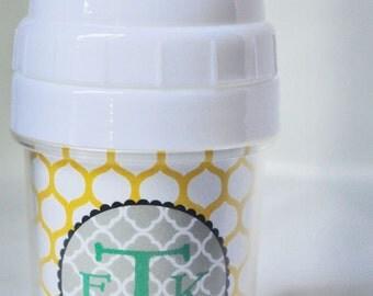 Monogram Sippy Cup - Custom Made
