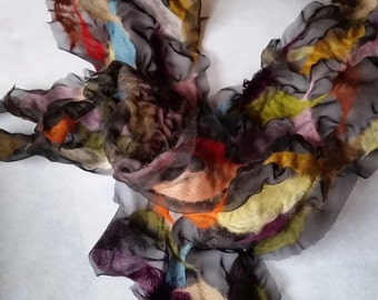 Nuno silk scarf