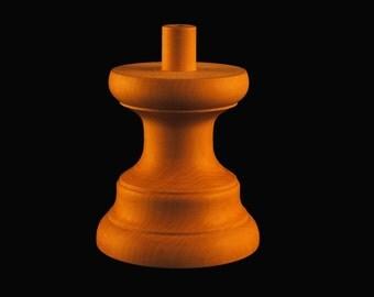 Millinery block spinner