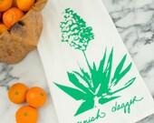 Spanish Dagger Succulent Cotton Flour Sack Tea Towel