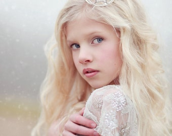 Newborn Rhinestone Crown Tiara Photo Prop #2
