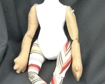 "PATTERN ONLY for Master Fox, cloth doll, approx 19"" from head to toe Copy"