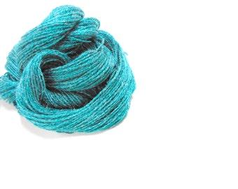 3 Skeins Teal Knitting Yarn, Mystery Yarn, Knitting Supplies, Crochet Notions, Y141